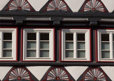 Fächerrossetten in Duderstadt