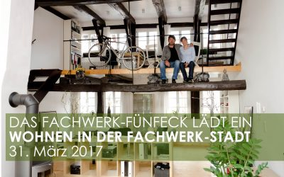 Das Fachwerk-Fünfeck lädt ein: Leben in der Fachwerk-Stadt