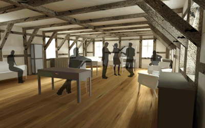 Den St. Blasien-Komplex wieder in seiner Ursprünglichkeit nutzen