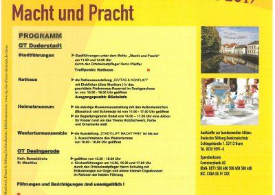 Programm in Duderstadt