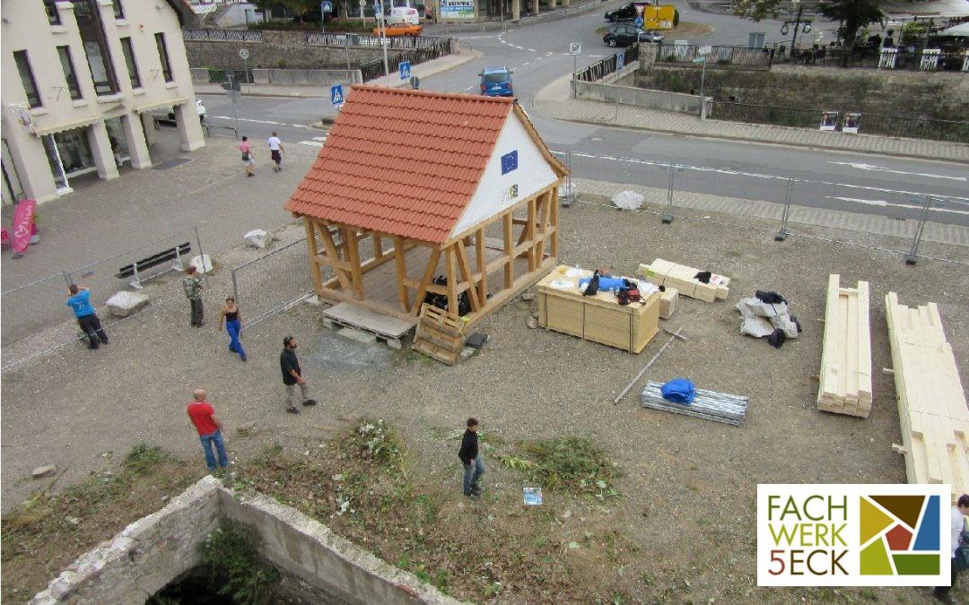 Europäisches Jugendbauprojekt FACHWERKLABOR 2018