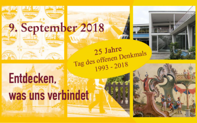 Tag des offenen Denkmals 2018