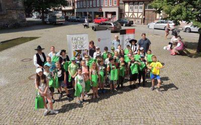 Schulprojekt Fachwerk allumfassend in Hann. Münden