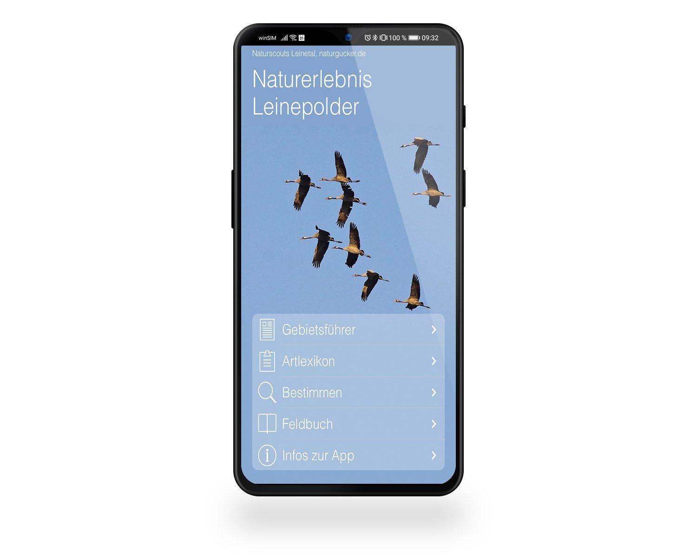 "App ""Naturerlebnis Leindepolder"""