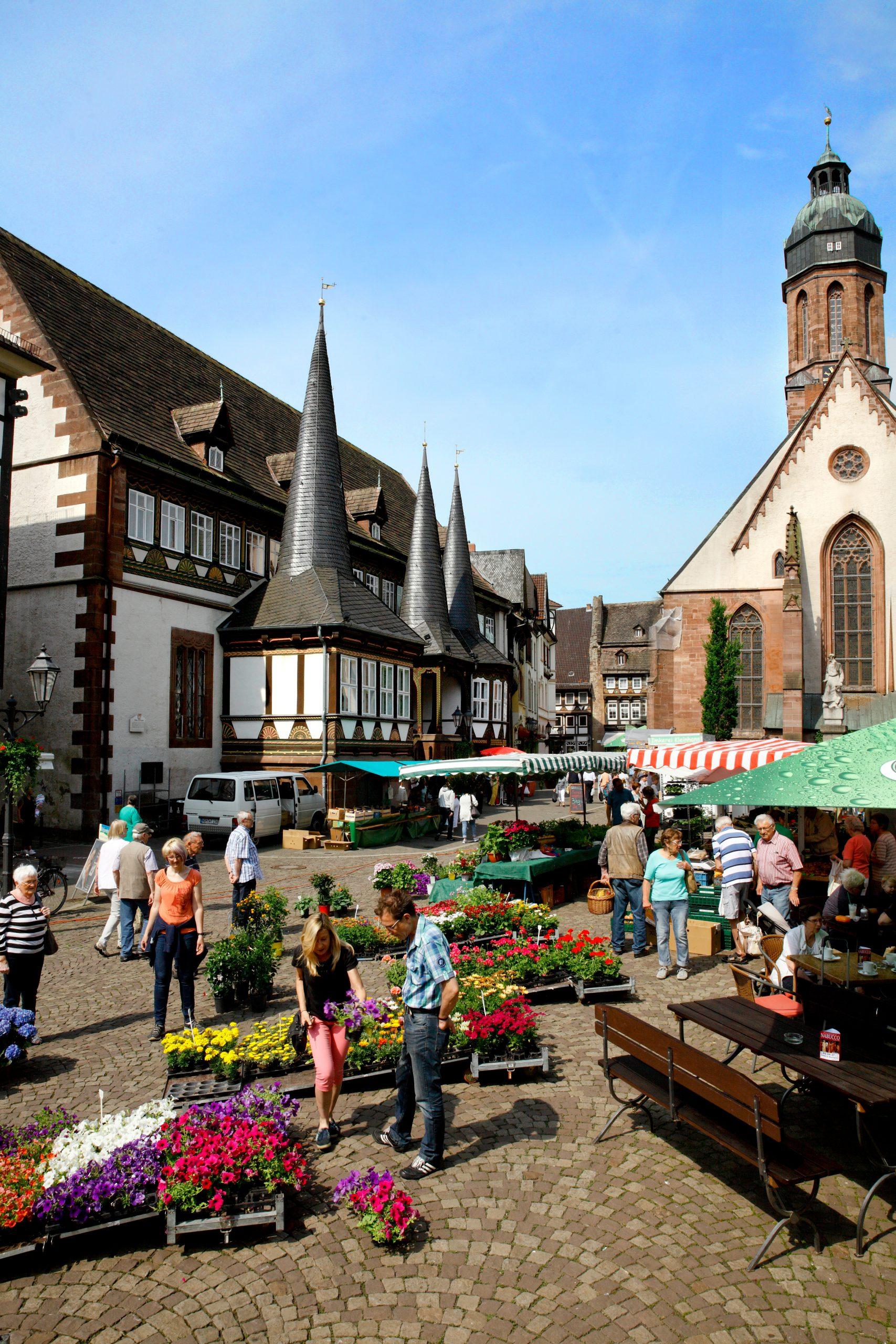 Wochenmarkt in Einbeck