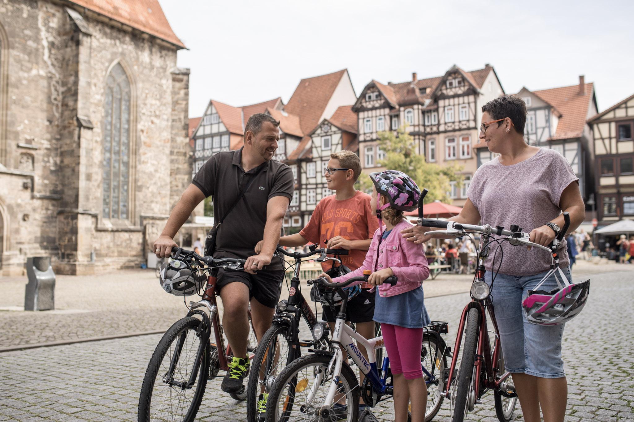 Radfahren in Hann. Münden