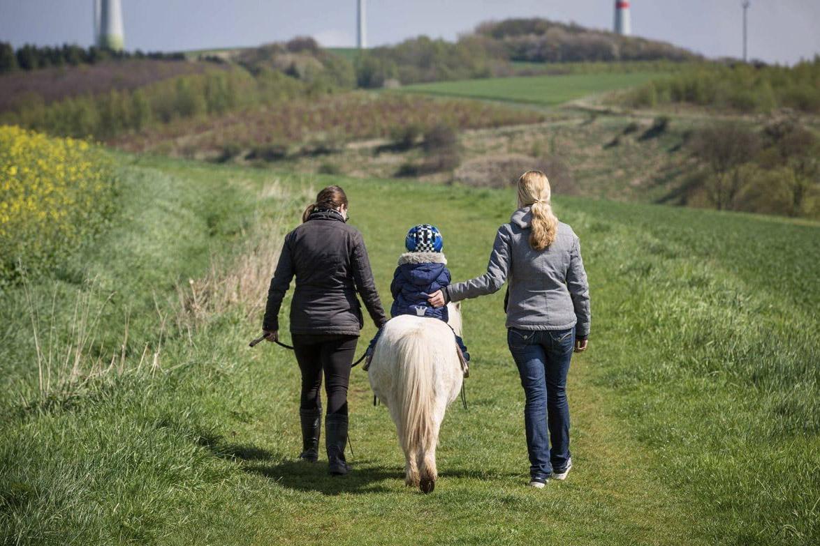 Ponyreiten Ponyhof Wulften