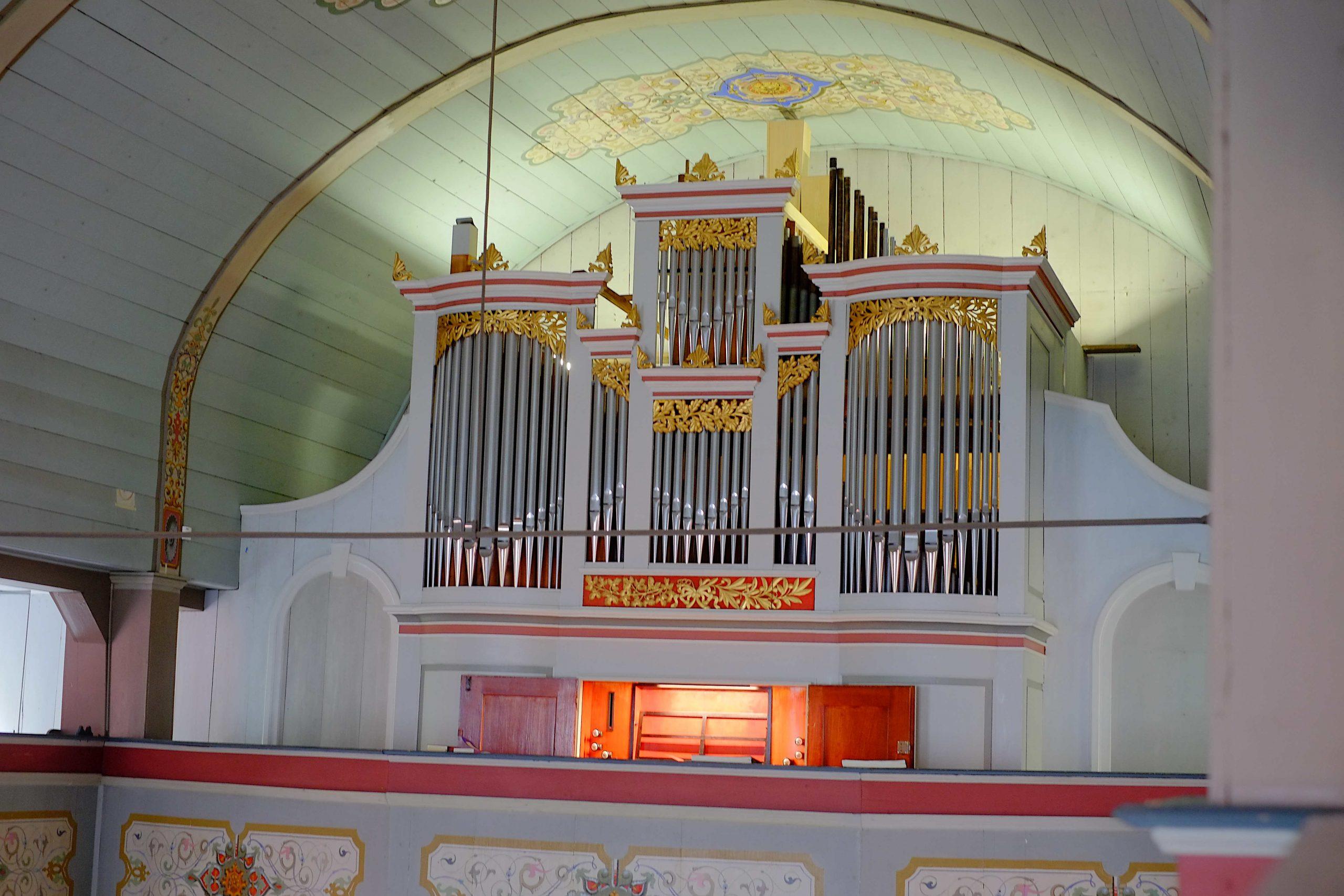 Kirchenorgel Lerbach
