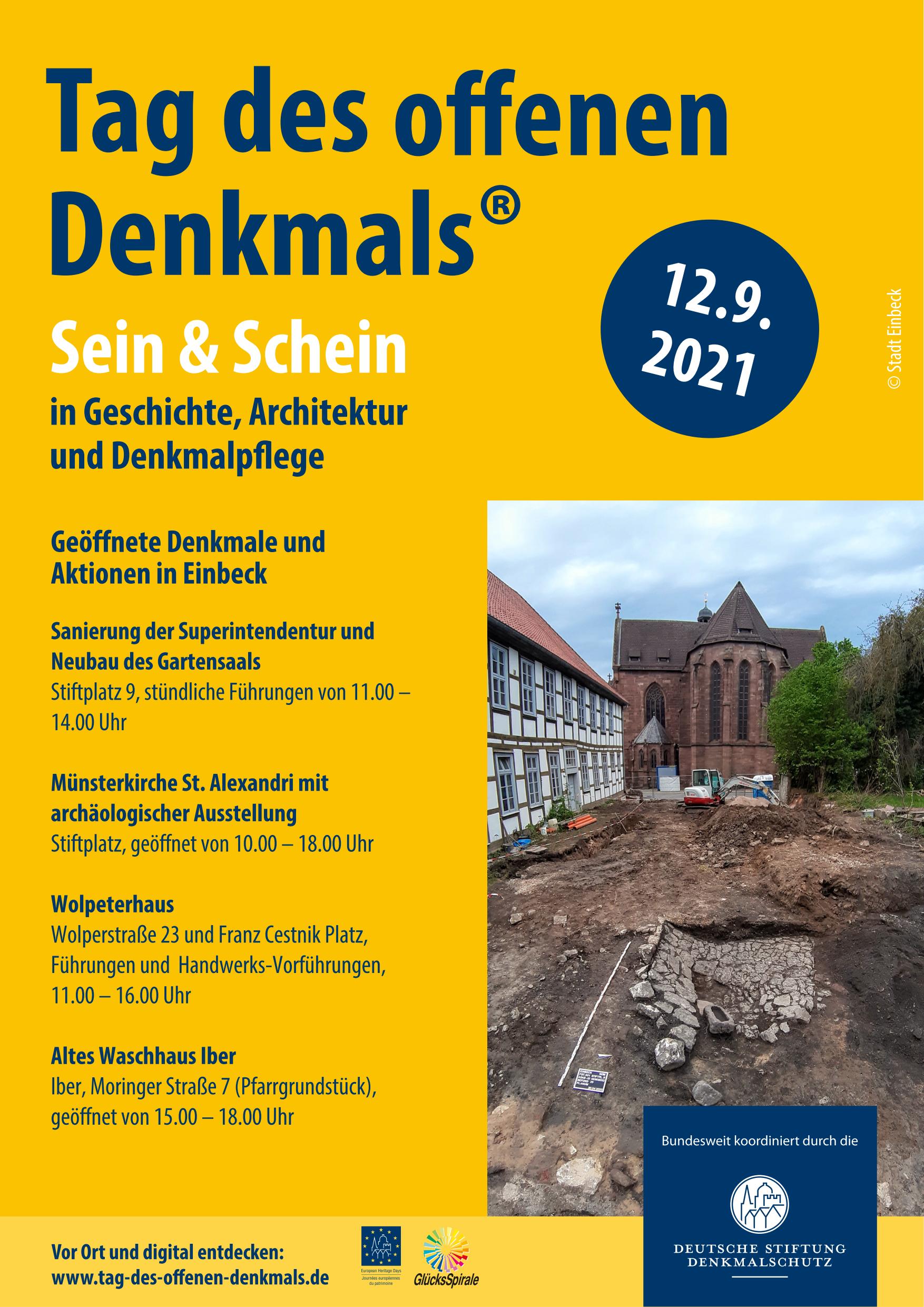 Einbeck - Stiftplatz 9 - Ausgrabung und Sanierung